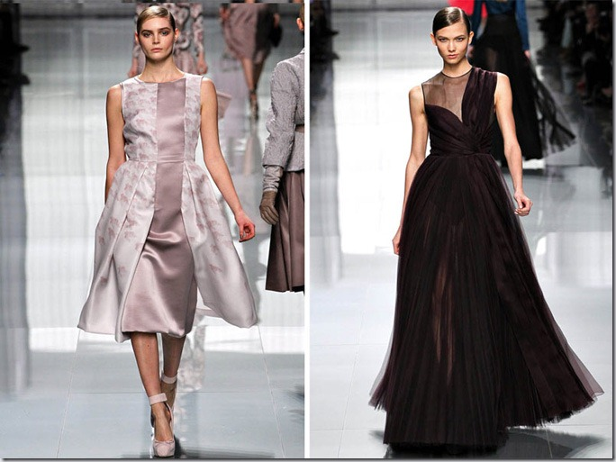 Saptamana de moda la Paris: Christian Dior (toamna 2012)