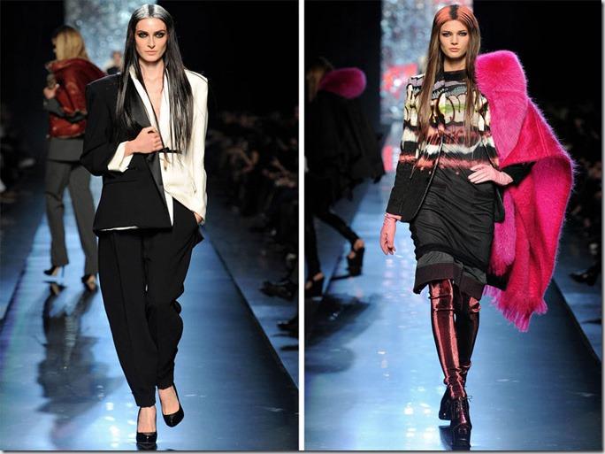 Saptamana de moda la Paris: Jean Paul Gaultier (toamna 2012)