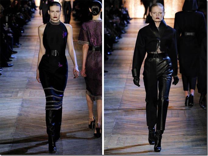 Saptamana de moda la Paris: Yves Saint Laurent (toamna 2012)