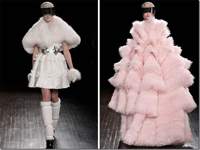 Saptamana modei la Paris: Alexander McQueen (toamna 2012)