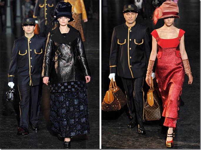 Saptamana modei la Paris: Louis Vuitton (toamna 2012)